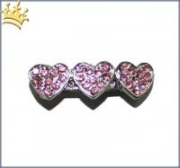 Lovely Heart Hairclip rosa