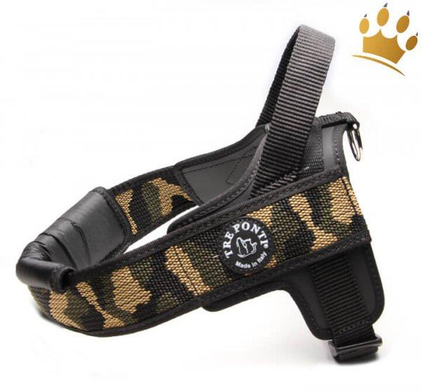 Tre Ponti Brustgeschirr For Big Dogs Camouflage