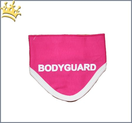 Hunde-Bandana Bodyguard rosa