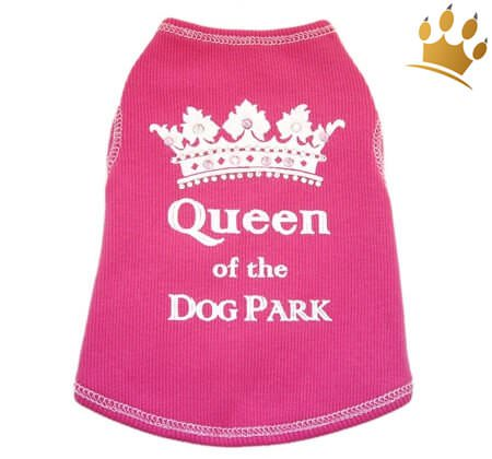 Hunde Shirt Queen of the Dog Park