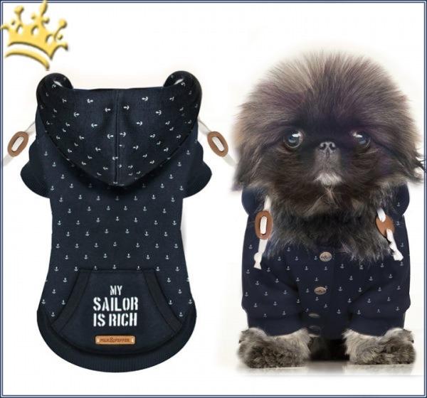 Milk & Pepper Hundesweater My Sailor