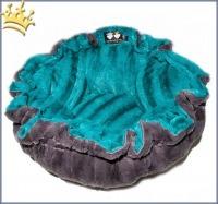 Hundebett Bessie & Barnie Cuddle Pod - Wonderland - Gravel Stone