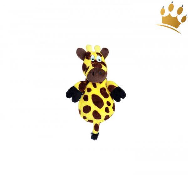 Hundespielzeug Giraffe mit lautlos Squeaker