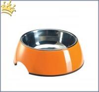 Hundenapf Melamin Orange