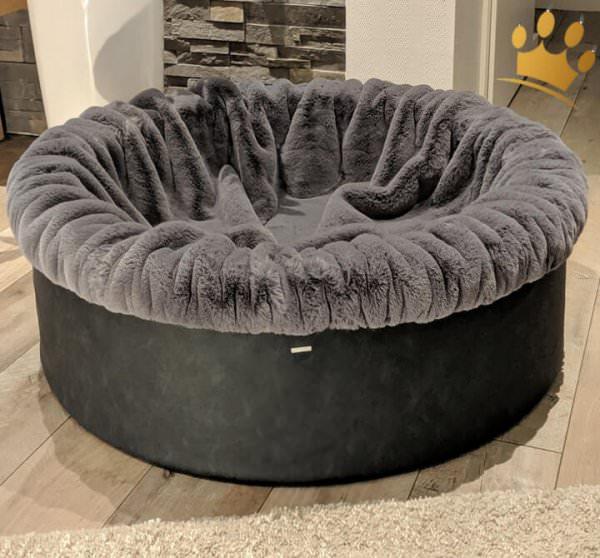Hundebuddelnest Grau