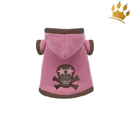 Hundesweater Pink Skully