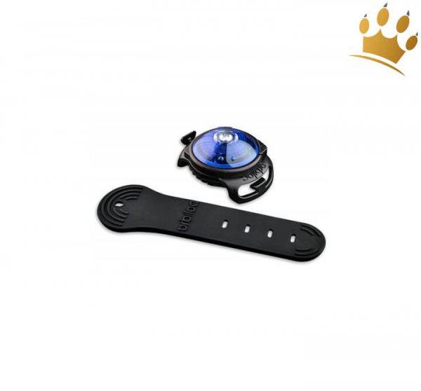 Orbiloc Leuchtbutton Dog Dual Blau