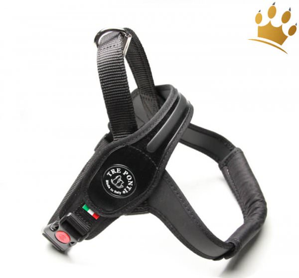 Tre Ponti Hundegeschirr Primo For Big Dogs Schwarz