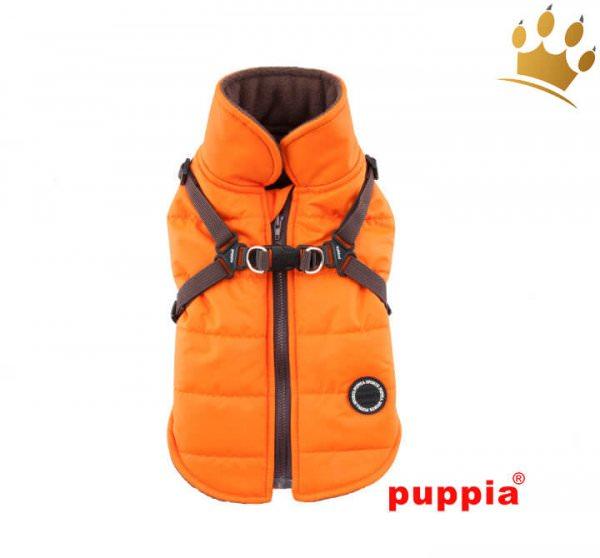 Puppia Hundemantel MOUNTAINEER II Orange