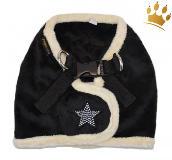 Step-In-Softgeschirr Shiny Star Black