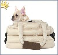 Puppyangel Hundetasche Love Down Padding Beige