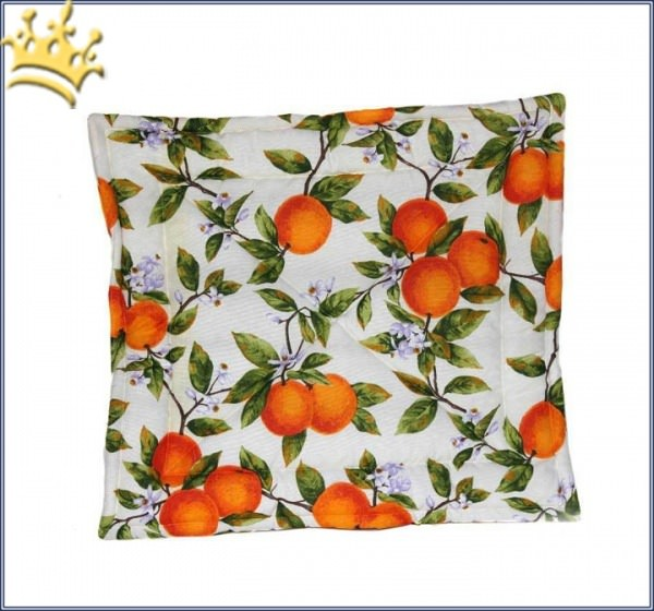 Hundedecke Orange Fruits