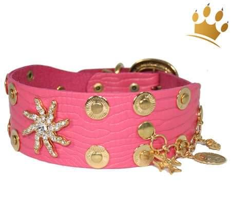 Hundehalsband Estrella de Mar Pink