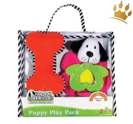 Spielzeugtasche Puppy Flower