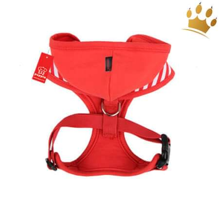 Puppia Softgeschirr Halcyon Red