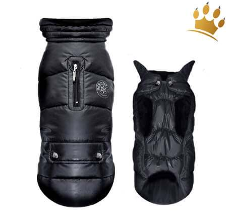 Hundejacke Snow Black