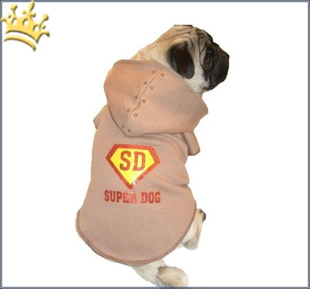 Hunde-Sweater Superdog