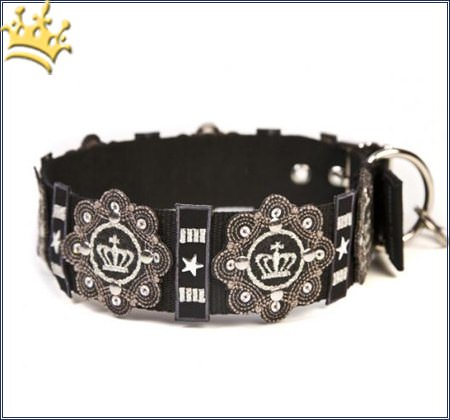 Halsband Royal Black