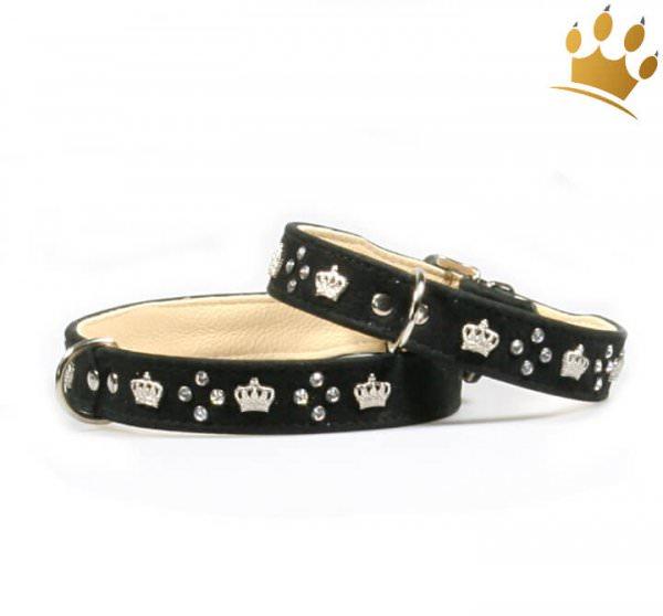 Hundehalsband Royal Empire Schwarz