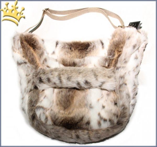 Hundetasche Fur Aline Snow Leo