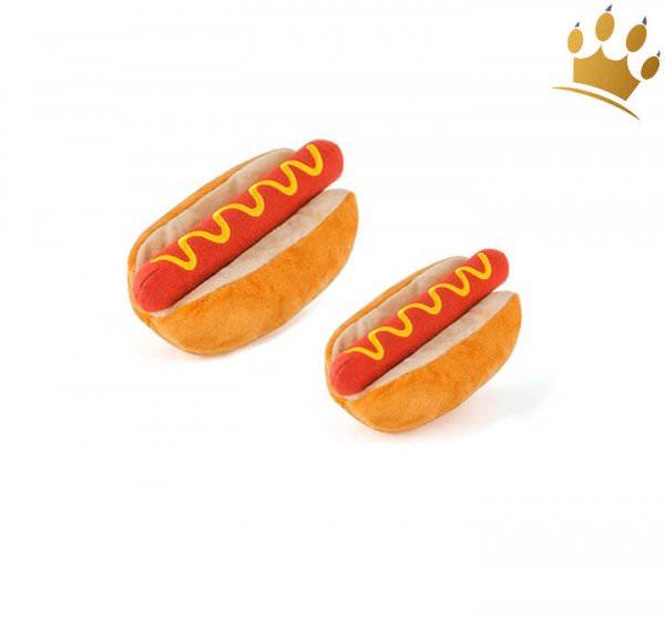 Hundespielzeug Hot Dog