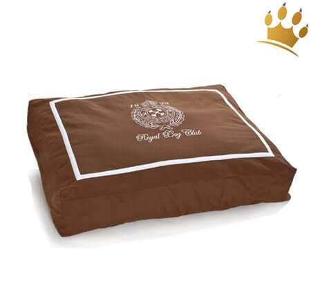 Hundekissen Royal Doggie Braun
