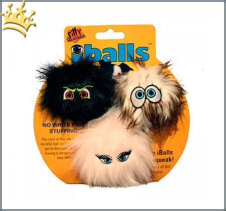 Spielzeug für Hunde Silly I-Balls