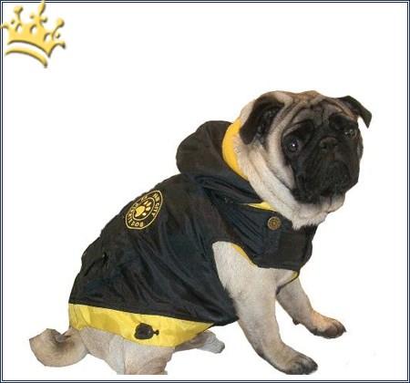 Hundemantel City Paw Gelb