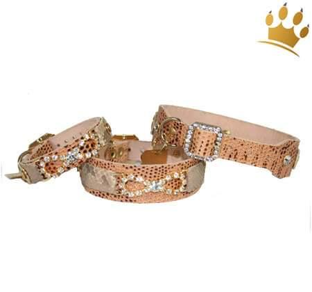 Hundehalsband Cayetana Snake