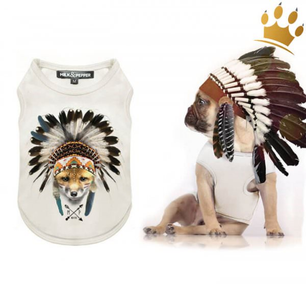 Milk & Pepper Hunde-T-Shirt Cheyenne