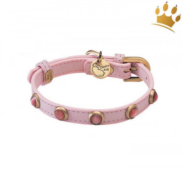 Hundehalsband Petit Rosa