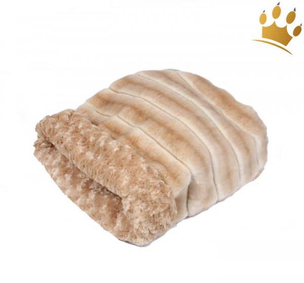 Hunde Cuddel Cup Buff Chinchilla Fur