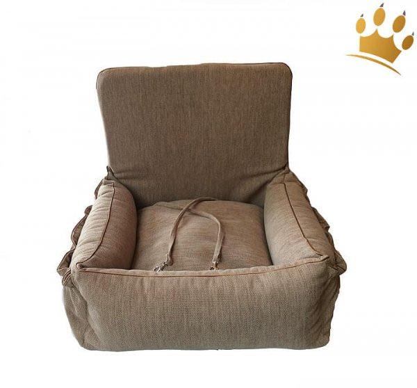 Hunde-Autositz Drive-Soft Beige