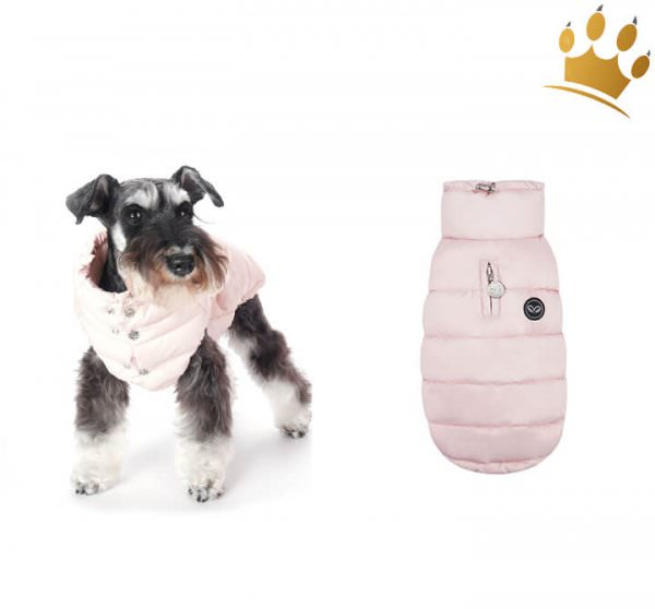 Puppyangel Hundemantel NEW Love Faux Rosa