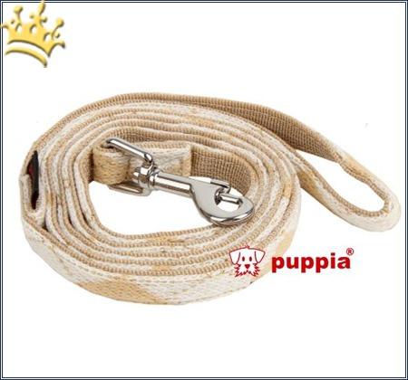 Puppia Hundeleine Argyle Mode Beige