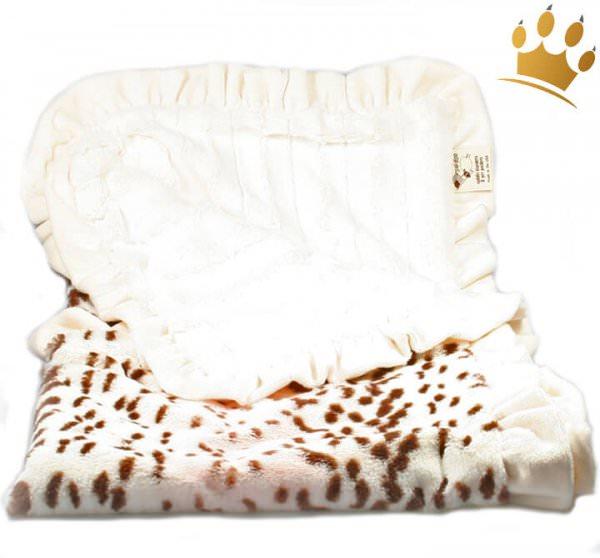 Hundedecke Cheetha Cream Cuddle Throw Big