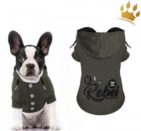 Milk & Pepper Hundesweater Fugazy