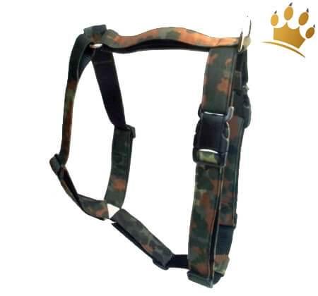 Hundegeschirr Camouflage