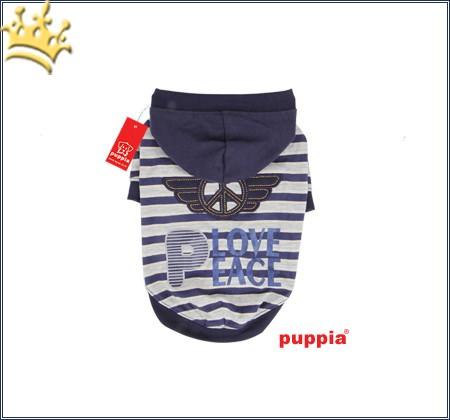 Puppia Hunde-Sweater Hardcore Blau