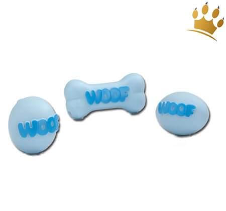 Hundespielzeug Puppy-Set Woof Blau