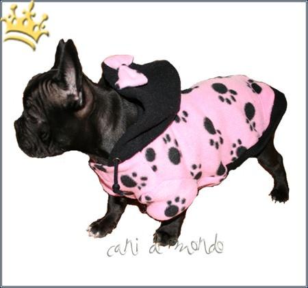 Hundefleecejacke Paw Rosa