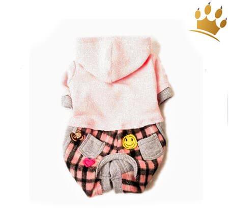 Hunde-Jumper Pink Flannel