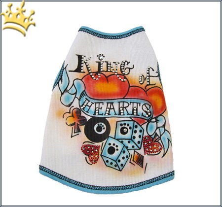 Hundeshirt King of Hearts