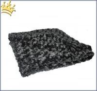 Hunde Cuddle Plaid Curly Black
