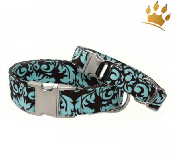 Hundehalsband Renaissance Türkis