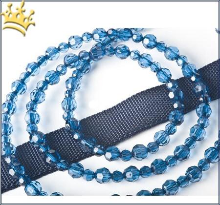 Designer-Hundeschmuckleine Montana Blue