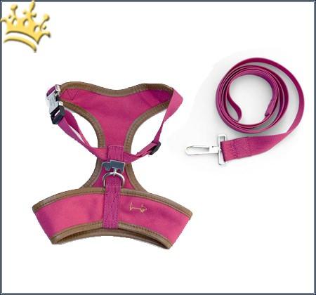 Canvas Harness-Set Pink