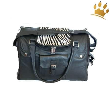 Hundetasche Wild Zebra Black