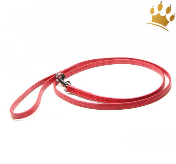 Hundelederleine Royal Kroko 135cm