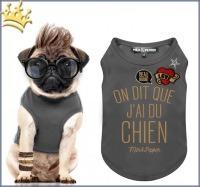 Milk & Pepper Hunde-T-Shirt Swanky